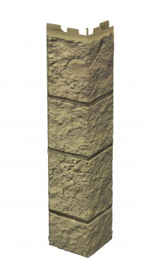 Угол наружн Solid Sandstone LIGHT BROWN,